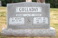 Vallie Marie <i>McInturff</i> Golladay