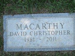 David Christopher C-Mac Macarthy