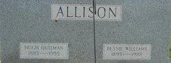 Bessie <i>Williams</i> Allison
