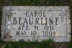 Carol Marie <i>Weise</i> Beaurline