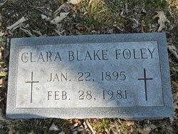 Clara <i>Blake</i> Foley