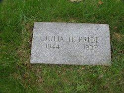 Julia Ann <i>Hanson</i> Pride