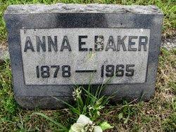 Anna E Baker