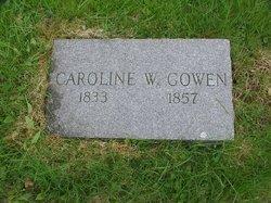 Caroline W. <i>Pride</i> Gowen