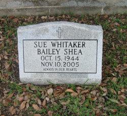 Sue <i>Whitaker</i> Bailey Shea
