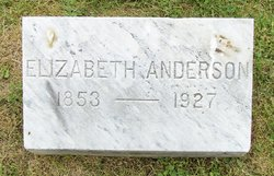 Elizabeth <i>Wright</i> Anderson