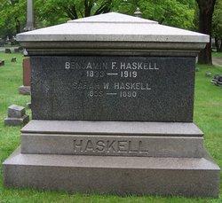 Benjamin F Haskell