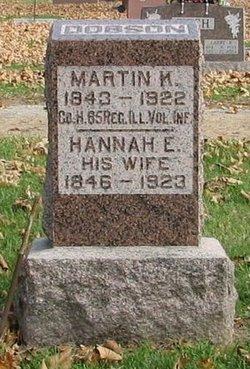 Hannah E <i>Mercer</i> Dobson