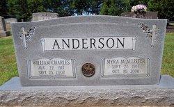 Myra <i>McAllister</i> Anderson