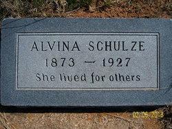 Alvina <i>Speck</i> Schulze