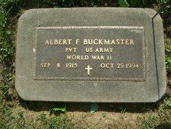 Albert Francis Buckmaster