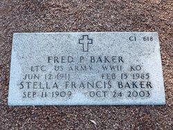 Fred P Baker