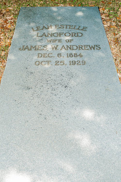 Leah Estelle <i>Langford</i> Andrews