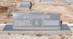 Missie Bell <i>Peterson</i> Etheridge