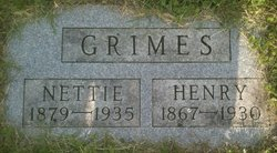 Elma Nettie <i>Johnson</i> Grimes