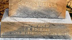 Lucy Nautilla Bousman
