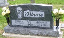 Virginia <i>Royse</i> Blaine