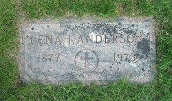 Ida (Lena) Carolina <i>Larson</i> Anderson