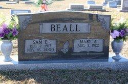 Mary Anna <i>Hennington</i> Beall