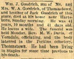 William J Goodrich