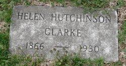 Helen <i>Hutchinson</i> Clarke