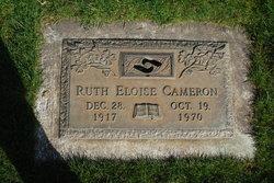 Ruth Eloise <i>Heritage</i> Cameron