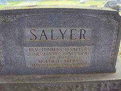Rev Tyree Thomas Salyer