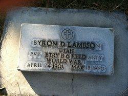 Bryon D Lambson