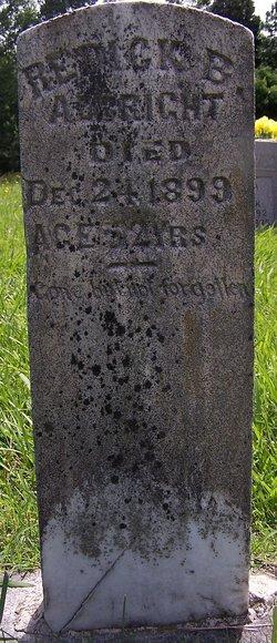 Redick B Albright
