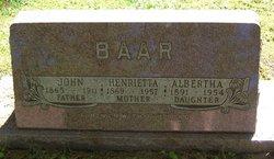 Albertha Baar
