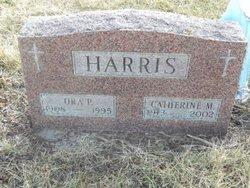 Catherine M Harris
