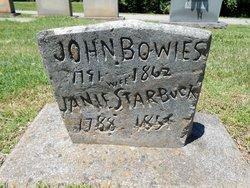 Janie <i>Starbuck</i> Bowles