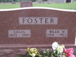 Willie M <i>Hunt</i> Foster