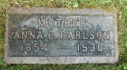 Anna Christina <i>Peterson</i> Carlson