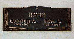 Quinton A Irwin