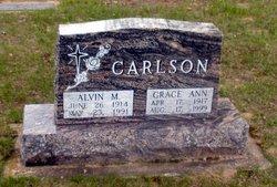 Grace Ann <i>Baker</i> Carlson