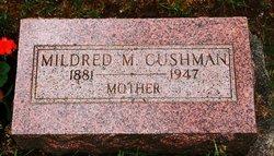 Mildred M <i>Mills</i> Cushman