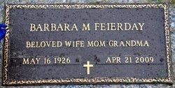 Barbara Mae <i>Stine</i> Feierday