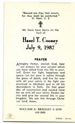 Hazel Theresa <i>Mueller</i> Cooney