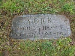 Hazel Elizabeth <i>York</i> York