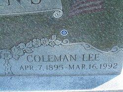 Coleman Lee Evans