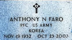 Anthony Nicholas Tony Faro