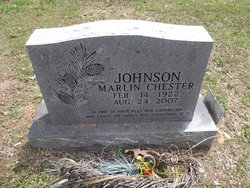 Marlin Chester Johnson