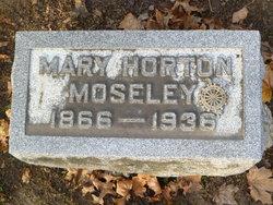 Mary <i>Horton</i> Moseley