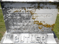 Mary <i>Casey</i> Butler