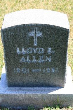 Lloyd E Allen