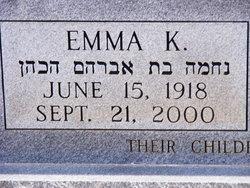 Emma <i>Katz</i> Abelkop