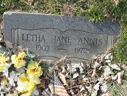 Letha Jane Annis