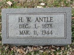 H. W. Antle