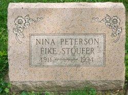 Nina <i>Patterson</i> Fike Stover